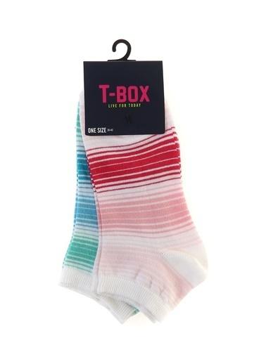 T-Box Soket Çorap Mavi